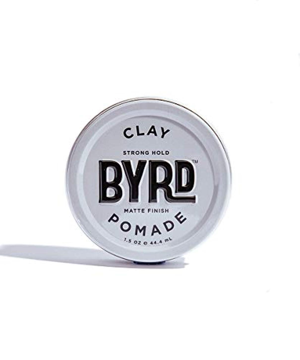 リゾートカラス印象的BYRD/クレイポマード 42g メンズコスメ ワックス ヘアスタイリング かっこいい モテ髪