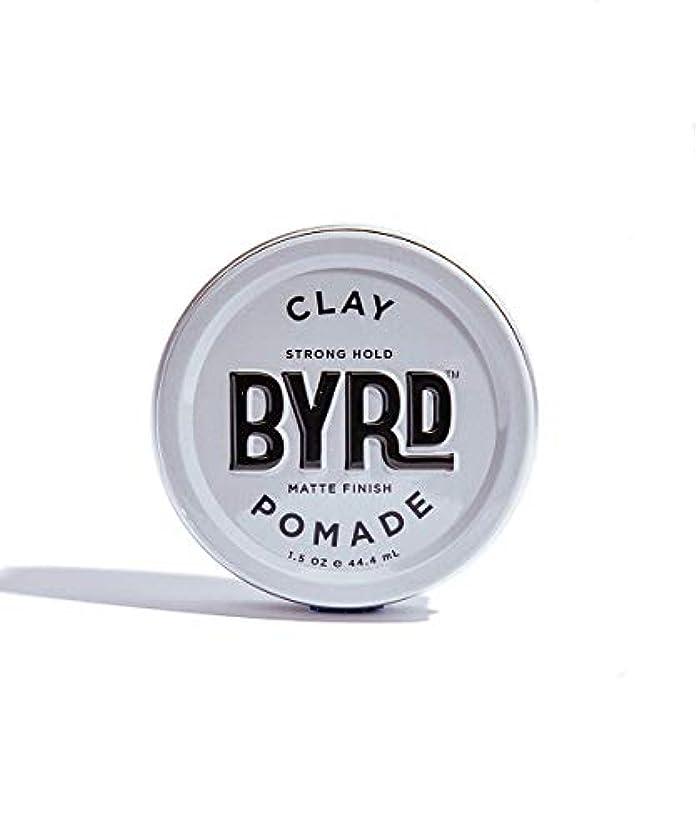 哺乳類田舎者悪化するBYRD/クレイポマード 42g メンズコスメ ワックス ヘアスタイリング かっこいい モテ髪
