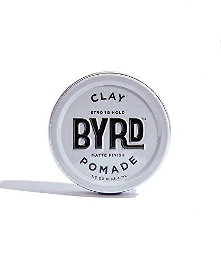 見物人鎖緊急BYRD/クレイポマード 42g メンズコスメ ワックス ヘアスタイリング かっこいい モテ髪