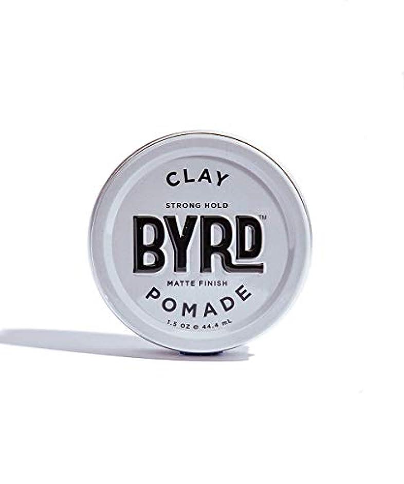 鏡推進吹きさらしBYRD/クレイポマード 42g メンズコスメ ワックス ヘアスタイリング かっこいい モテ髪