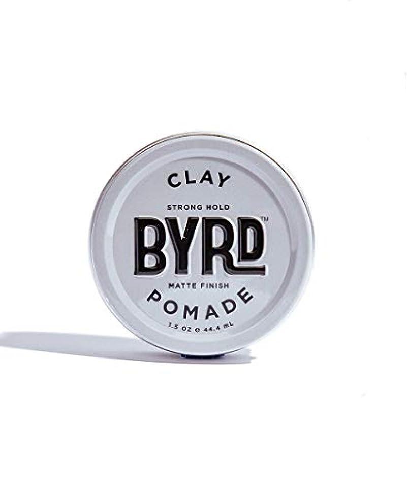 補助金霜中世のBYRD/クレイポマード 42g メンズコスメ ワックス ヘアスタイリング かっこいい モテ髪