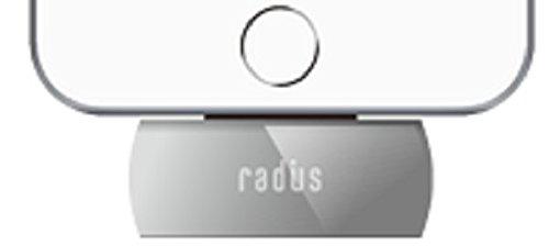 ラディウス radius Lightning対応 完全ワイヤレスFMトランスミッター ブラック AL-FTW21K