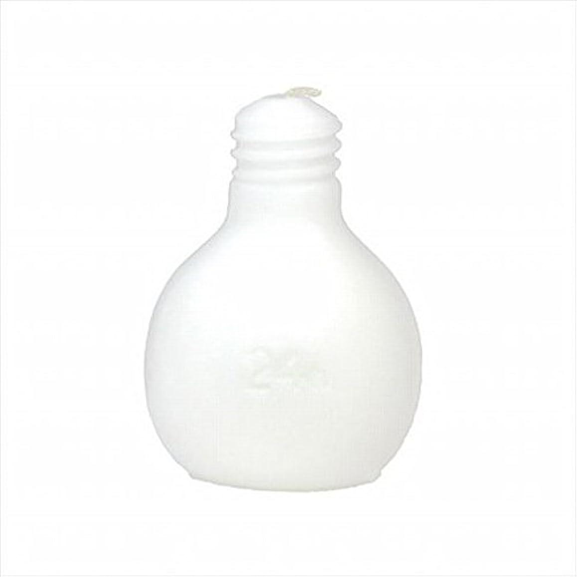 放出徹底チェスkameyama candle(カメヤマキャンドル) 節電球キャンドル 「 ホワイト 」 キャンドル 75x75x98mm (A4220000W)