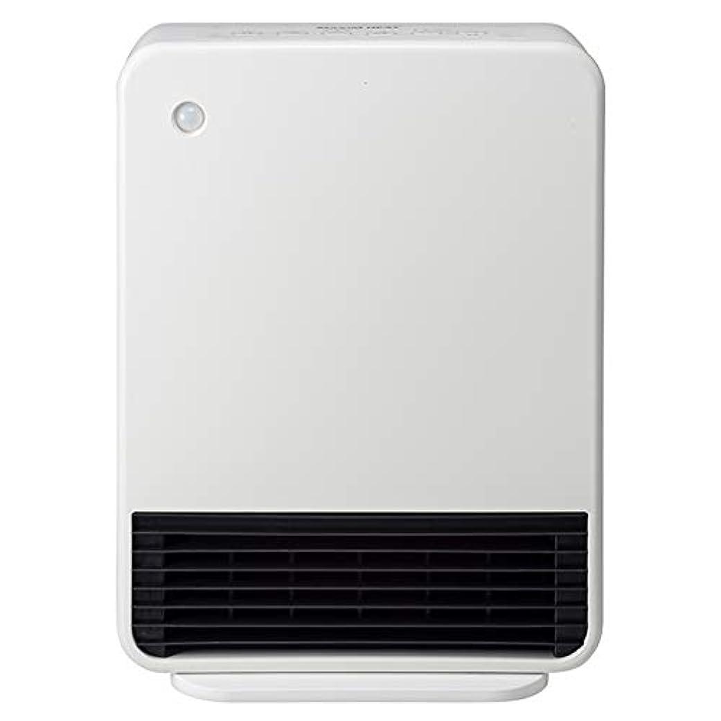 反抗ほとんどない特定のスリーアップ 人感センサー付セラミックヒーター(クリアホワイト)【暖房器具】Three-up マキシムヒート CH-T1960WH
