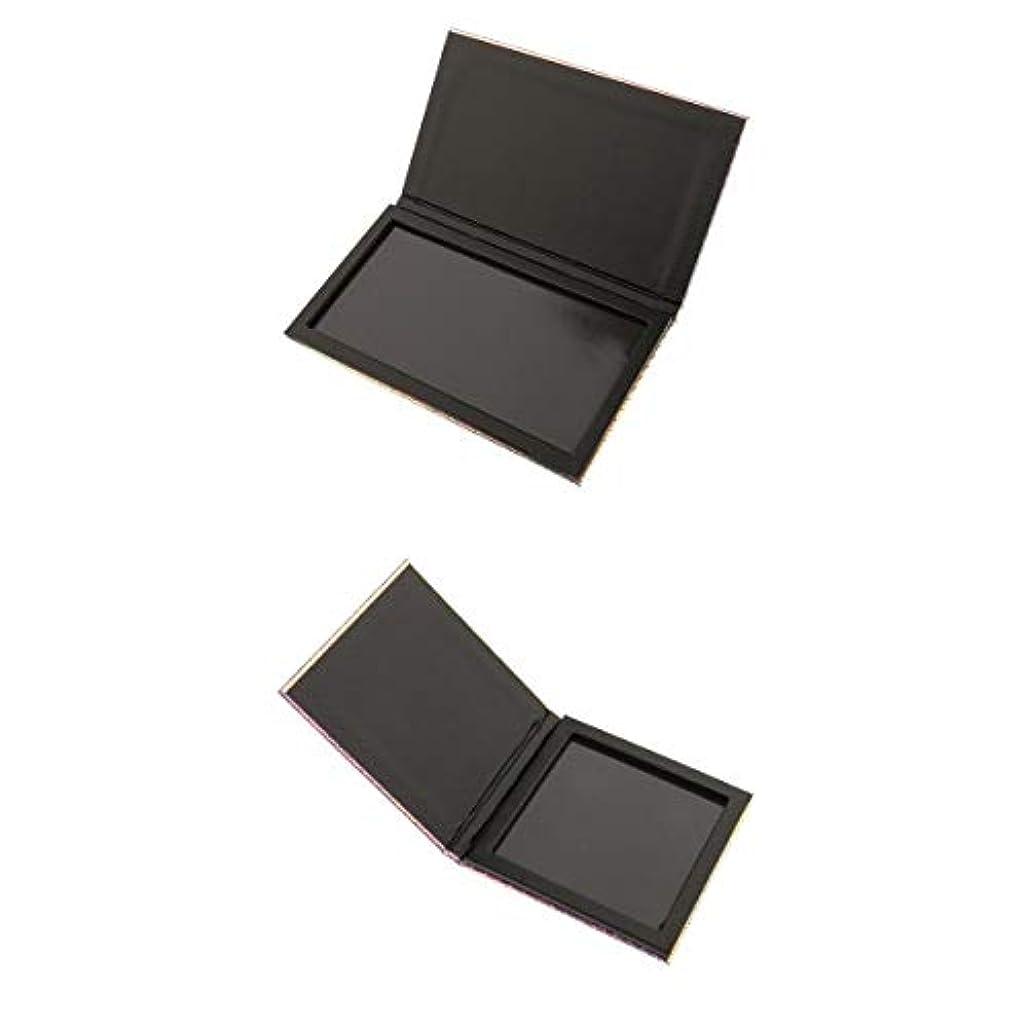 看板いっぱいアノイKesoto 2個セット 磁気パレット コンテナ ボックス ケース アイシャドー パウダー メイクアップ アイシャドー ハイライター コンシーラー ホルダー