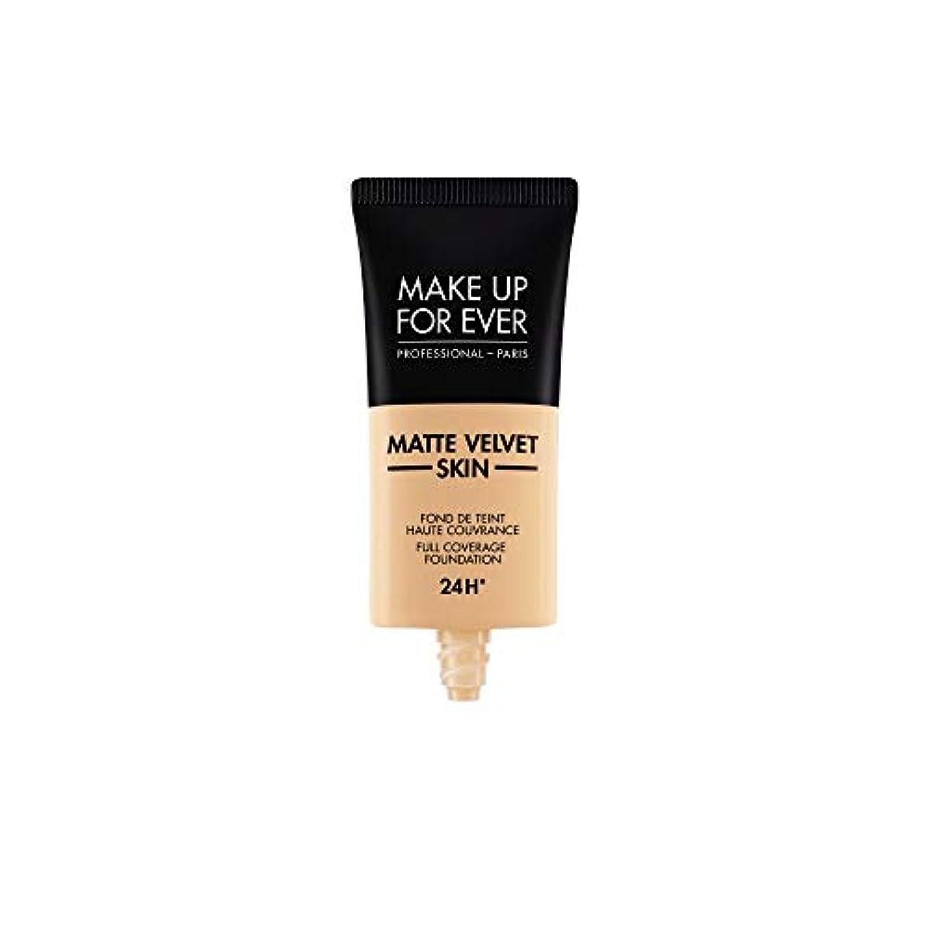 高音病弱想像力豊かなメイクアップフォーエバー Matte Velvet Skin Full Coverage Foundation - # R330 (Warm Ivory) 30ml/1oz並行輸入品