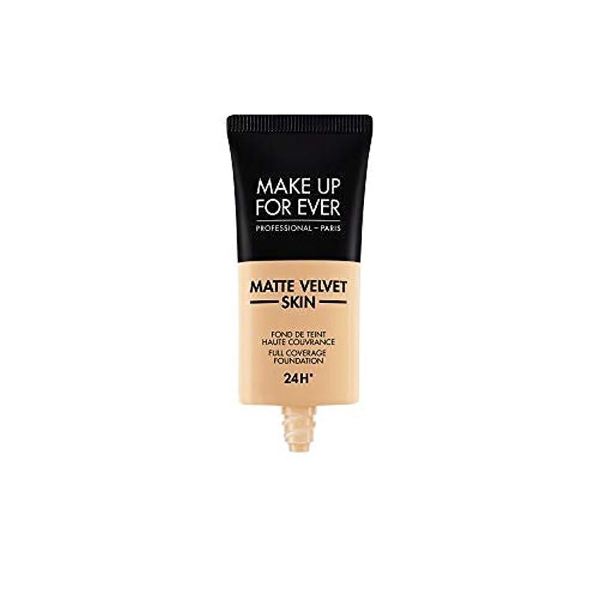 ダンスどこ大工メイクアップフォーエバー Matte Velvet Skin Full Coverage Foundation - # R330 (Warm Ivory) 30ml/1oz並行輸入品