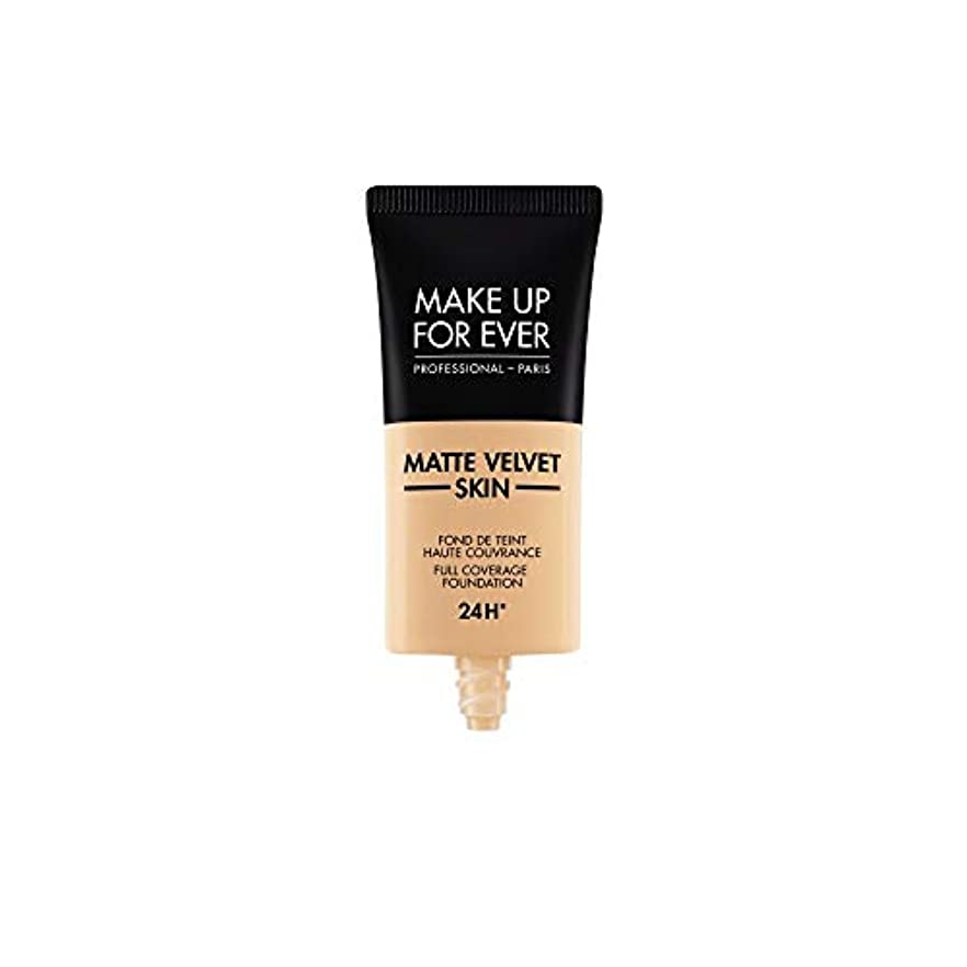 人生を作る一流ケニアメイクアップフォーエバー Matte Velvet Skin Full Coverage Foundation - # R330 (Warm Ivory) 30ml/1oz並行輸入品