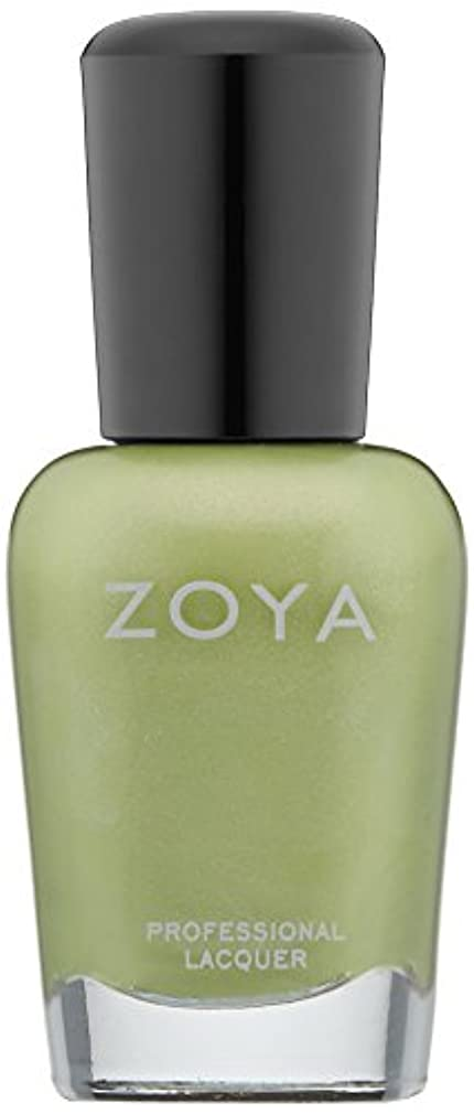 居心地の良いそして優先ZOYA ゾーヤ ネイルカラー ZP618 TRACIE トレイシィー 15ml パール/フロスト ピスタチオグリーン 爪にやさしいネイルラッカーマニキュア