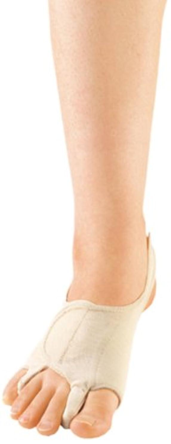 靄安全精査するソルボ外反母趾?内反小趾サポーター(パワーメッシュ 補整力強化設計)?Lサイズ(25.5~27.0cm)右足用 ブラック