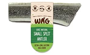 Watch & Grow Food Co Split Antler Dog Treat, Small