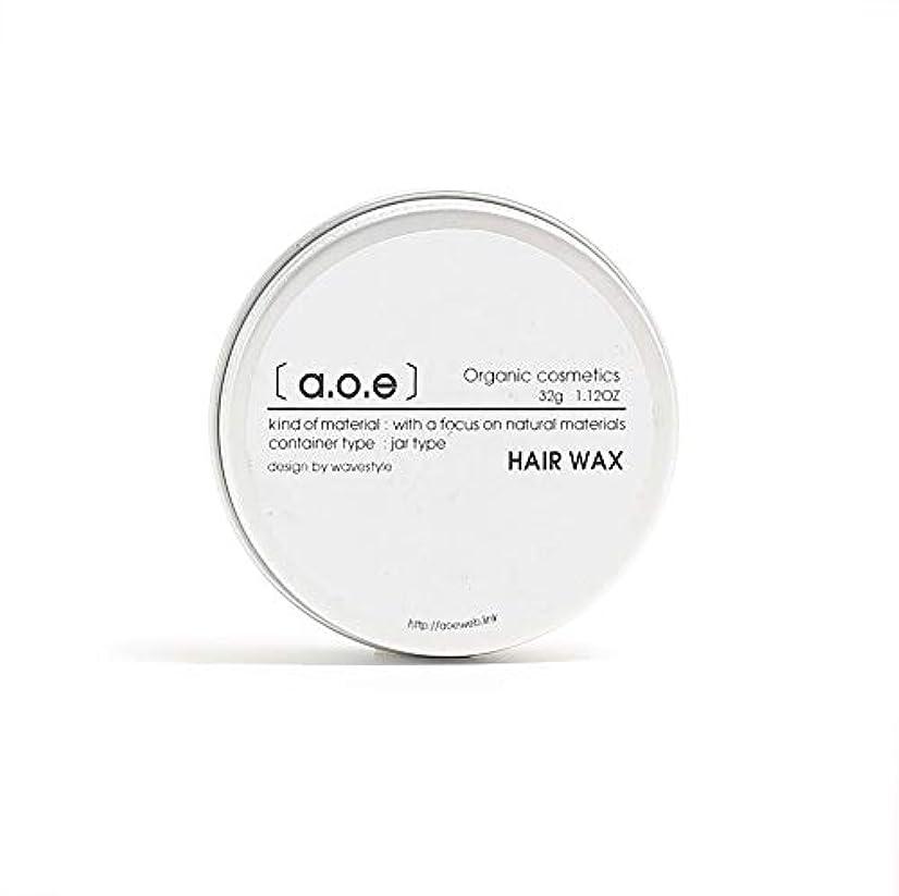 雄弁アクティブ従うaoe オーガニック ヘアワックス & バーム 【 Organic Wax & Balm】