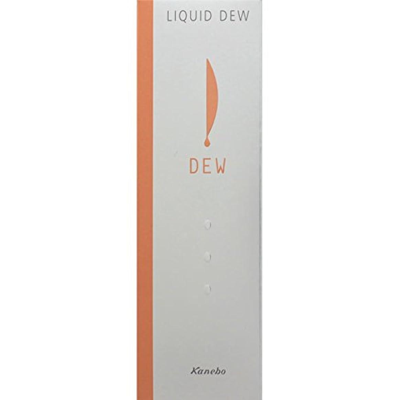 溶融切り下げ良心的カネボウ化粧品 DEW リクイドデュウ ソフトオークルA
