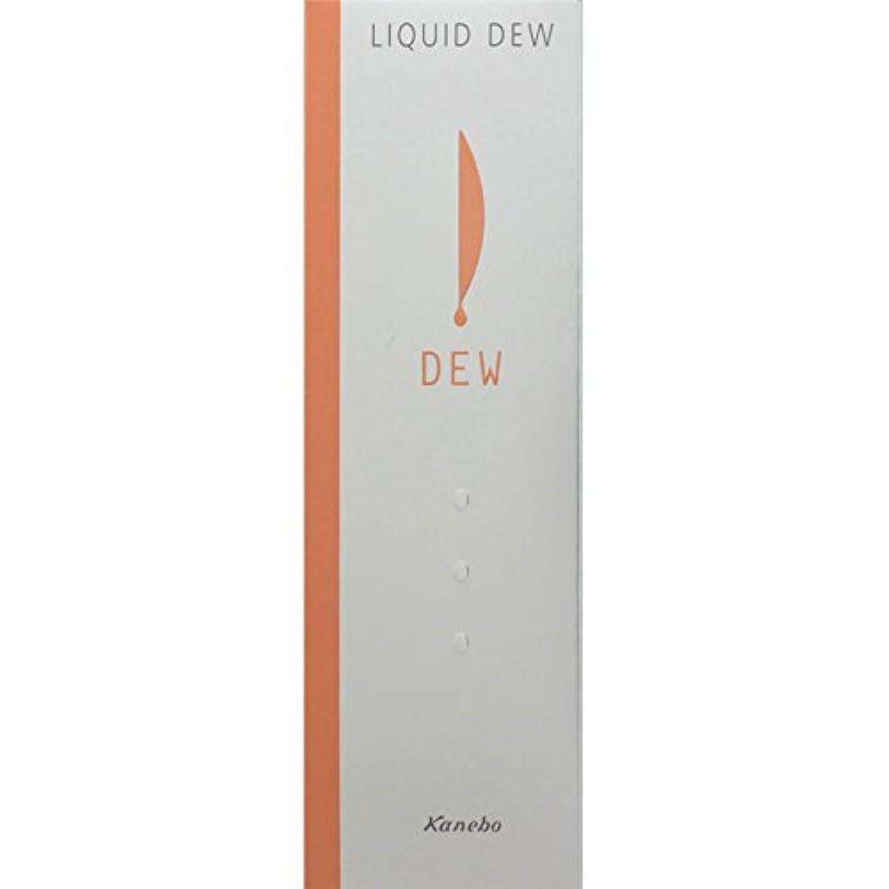 経由で小麦粉のどカネボウ DEW リクイドデュウ【オークルB】(保湿液?ファンデーション