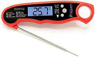 Digital Instant Read Meat Thermometer - Best Meat Thermometer for Cooking, Waterproof with Backlight. Food Thermometer...