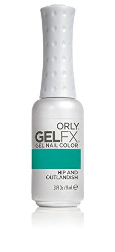 アンケート複数上流のOrly GelFX Gel Polish - Hip and Outlandish - 0.3oz/9ml