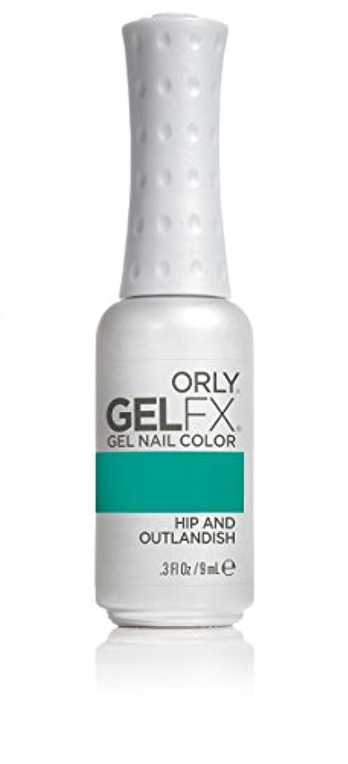 終わった大人不良品Orly GelFX Gel Polish - Hip and Outlandish - 0.3oz/9ml