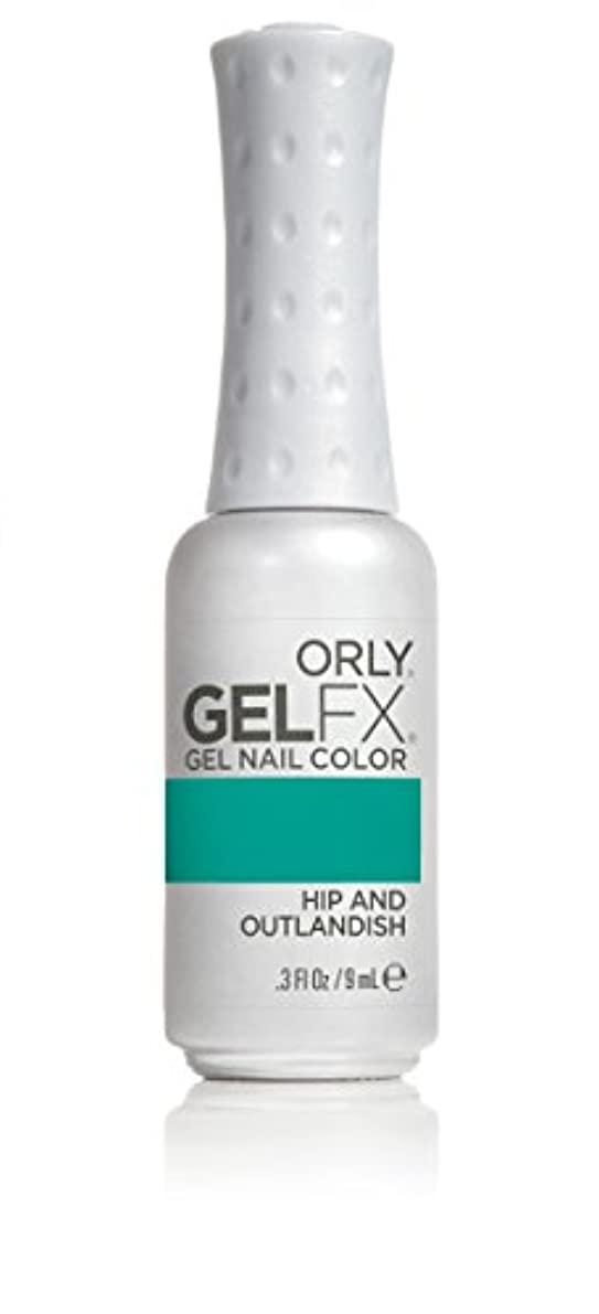 包囲グリル息切れOrly GelFX Gel Polish - Hip and Outlandish - 0.3oz/9ml