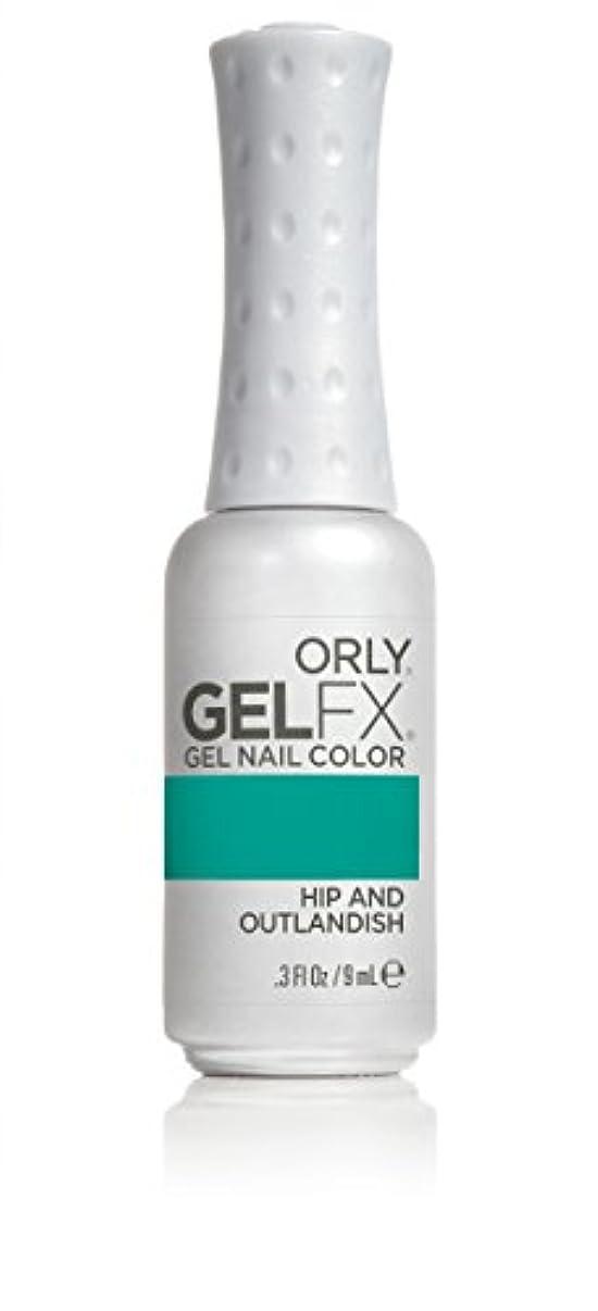 唯一静的一月Orly GelFX Gel Polish - Hip and Outlandish - 0.3oz/9ml
