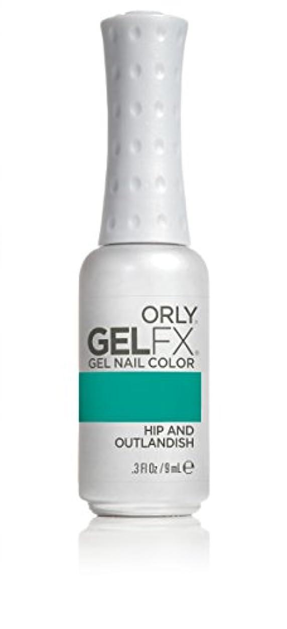 ミスペンド従順革新Orly GelFX Gel Polish - Hip and Outlandish - 0.3oz/9ml