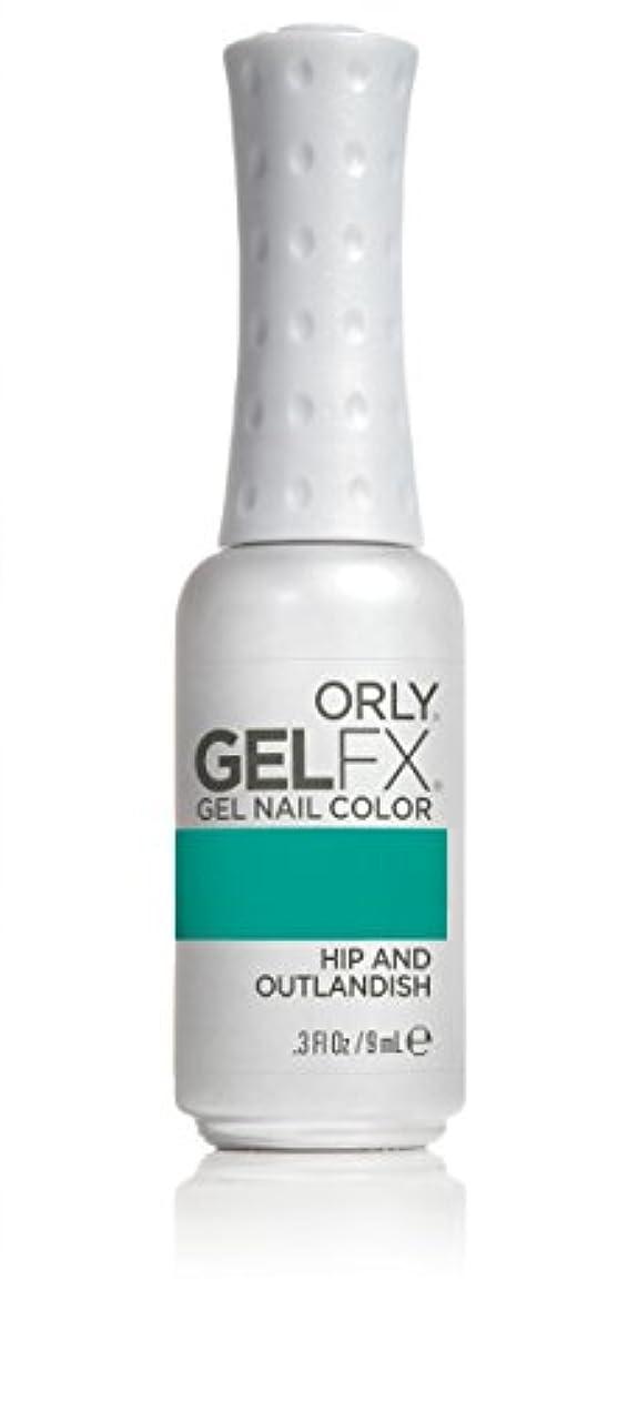 勝利した故障誰でもOrly GelFX Gel Polish - Hip and Outlandish - 0.3oz/9ml