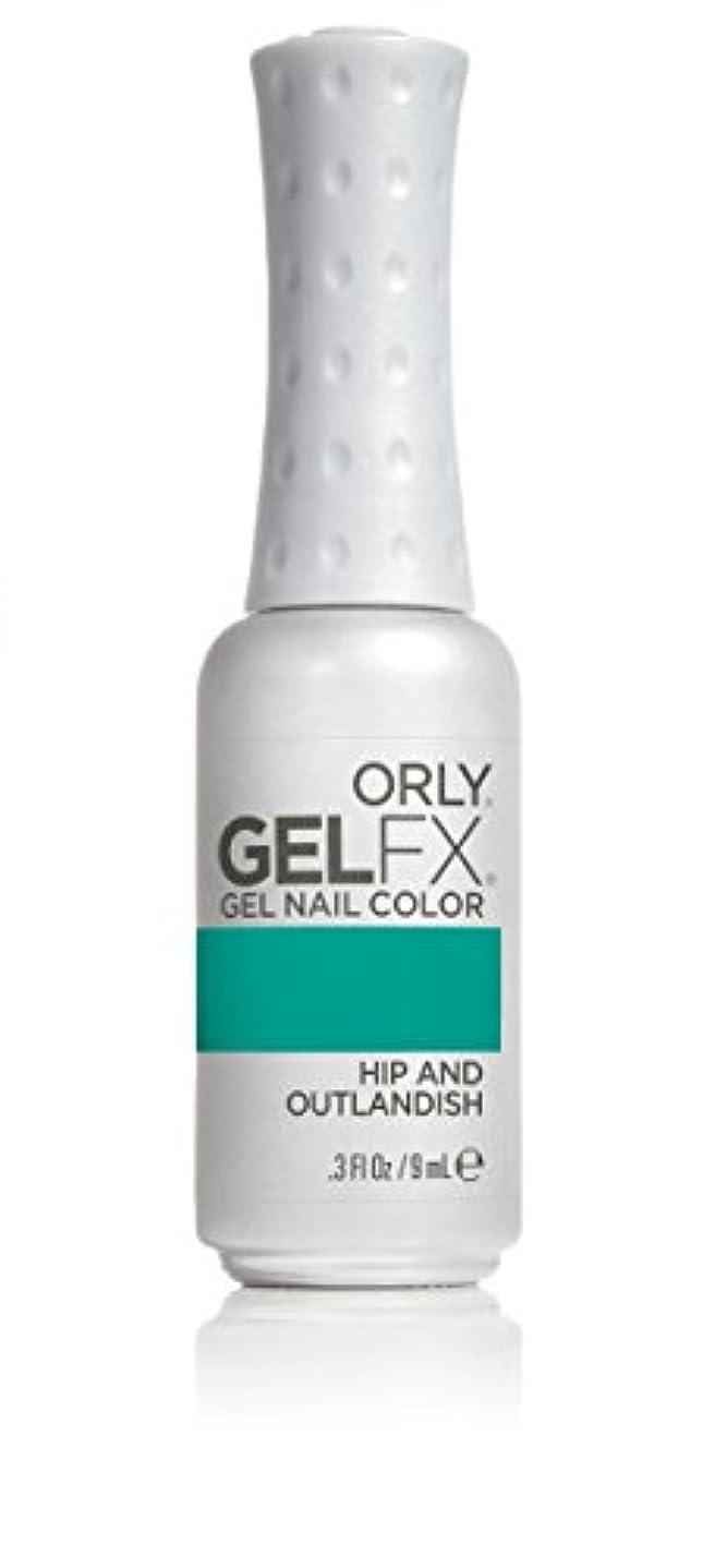 狭い金属財布Orly GelFX Gel Polish - Hip and Outlandish - 0.3oz/9ml