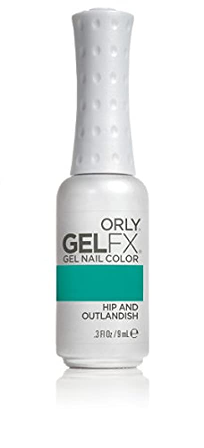起業家市の中心部抑止するOrly GelFX Gel Polish - Hip and Outlandish - 0.3oz/9ml