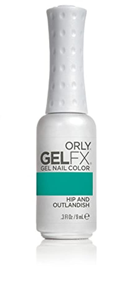 信頼オペラ重量Orly GelFX Gel Polish - Hip and Outlandish - 0.3oz/9ml