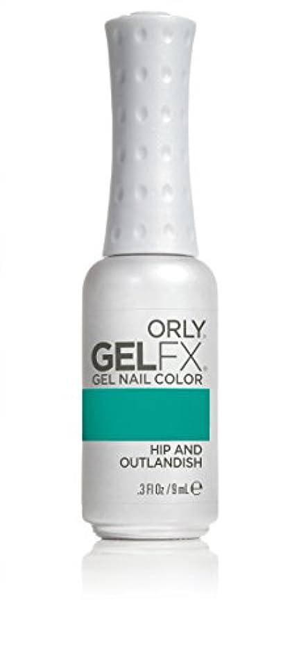 セイはさておきネスト宿るOrly GelFX Gel Polish - Hip and Outlandish - 0.3oz/9ml