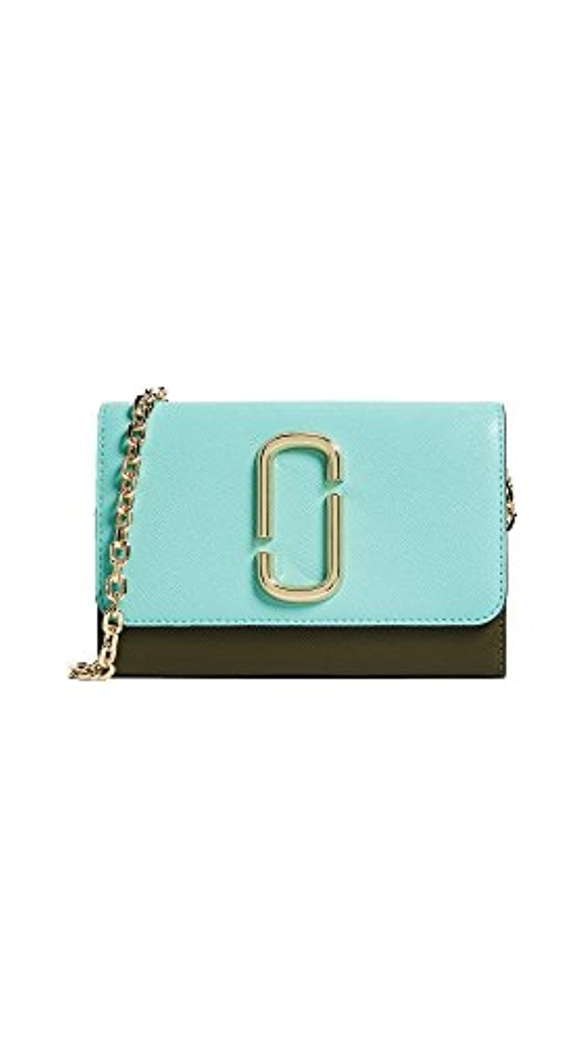 【Marc Jacobs】Snapshot Wallet On Chain カラー:SURF MULTI 【並行輸入品】