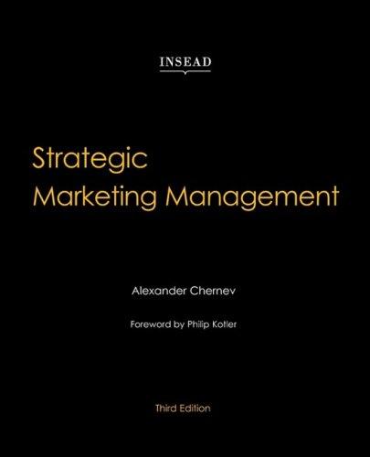 Download Strategic Marketing Management 0979003997