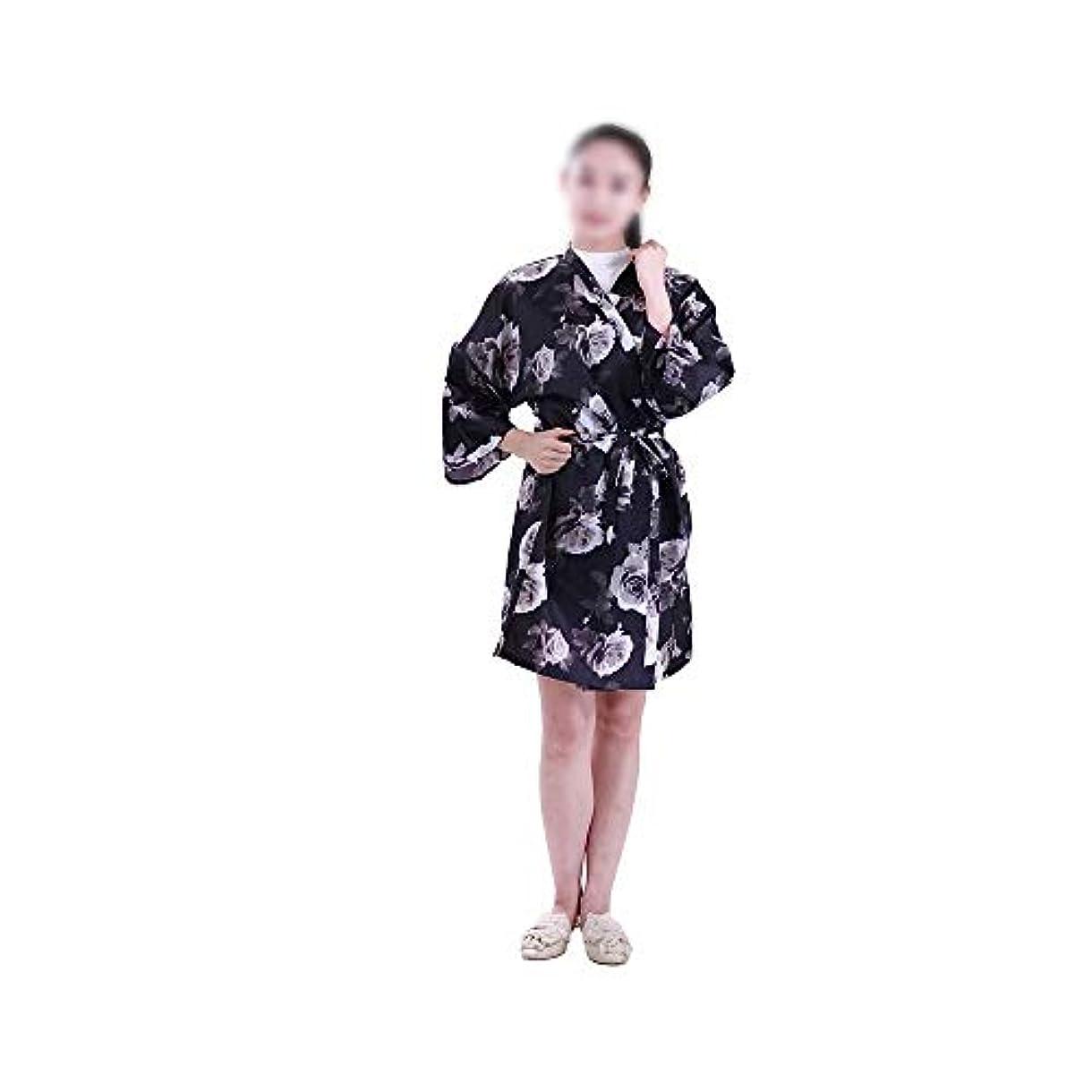 Lucy Day 3個のヘアエプロンヘアカットガウンバーバーケープ防水帯電防止染色サロン布