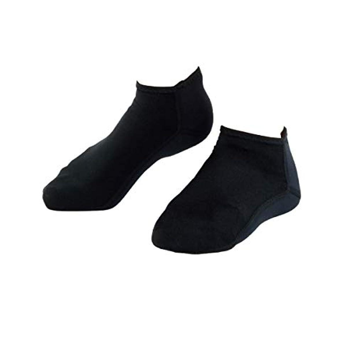 バーゲン神経障害性交靴下 かかと 保湿 チタン 素足小町 フル