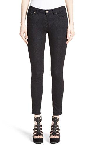 ヴェルサーチ ボトムス デニム Versace Collection Studded Logo Pocket S Dark Indig [並行輸入品]
