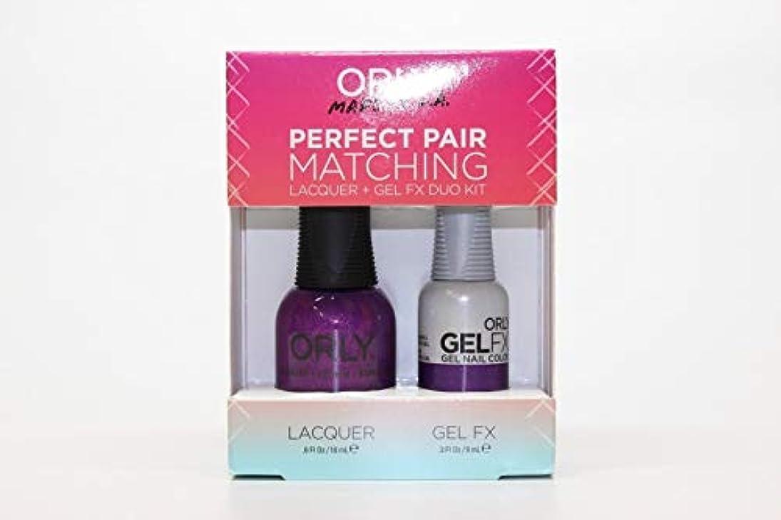 効率的にルアー要求するOrly - Perfect Pair Matching Lacquer+Gel FX Kit - Celebrity Spotting - 0.6 oz / 0.3 oz