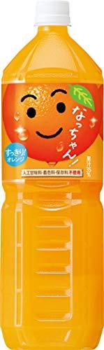 なっちゃん オレンジ ケース1.5L×8