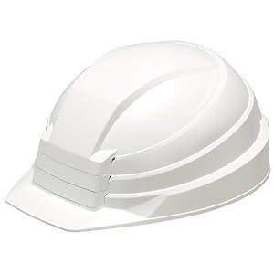 IZANO 防災用 たためる ヘルメット ホワイト
