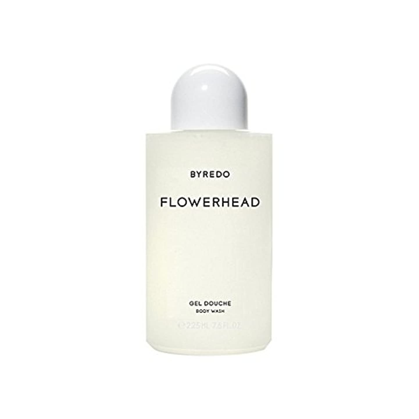 コンバーチブル軍隊ありそうByredo Flowerhead Body Wash 225ml - ボディウォッシュ225ミリリットル [並行輸入品]