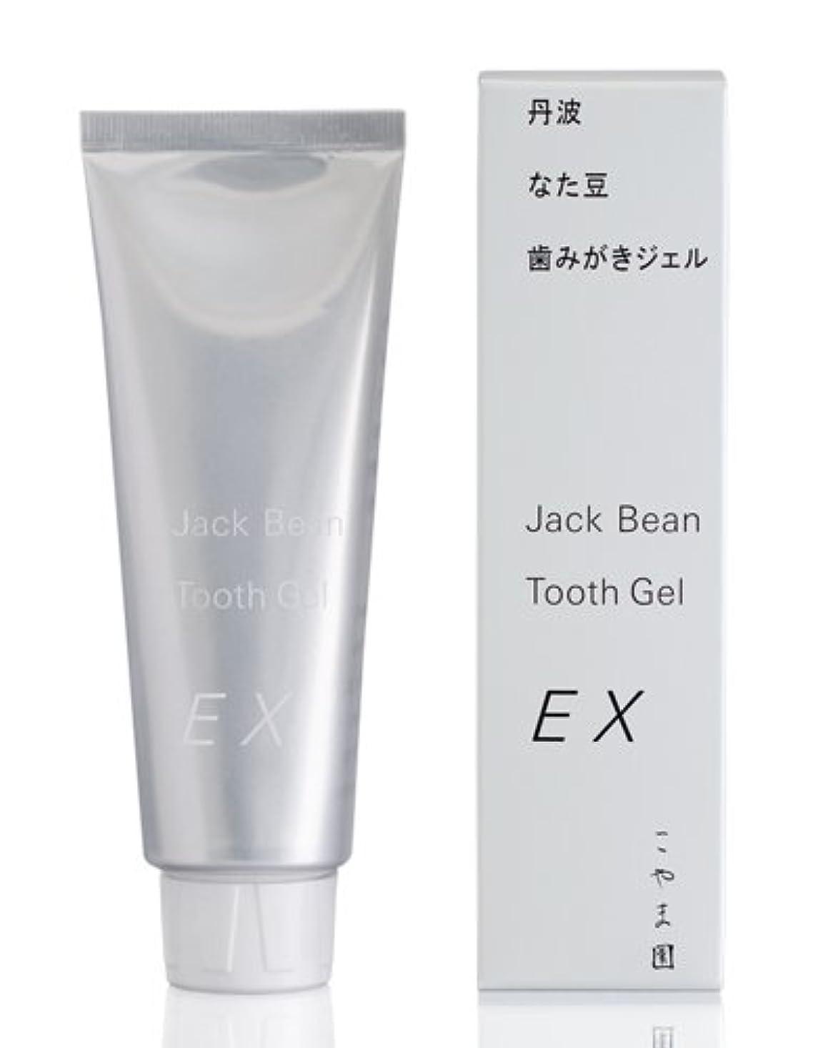 散らす補償トイレこやま園 丹波なた豆歯みがきジェルEX 120g