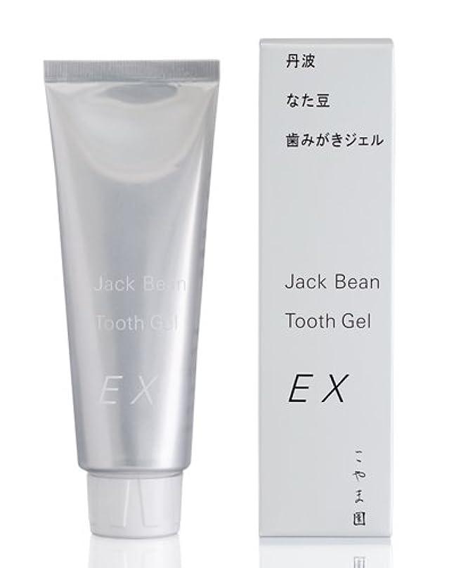 有効化追い出す敬意を表するこやま園 丹波なた豆歯みがきジェルEX 120g