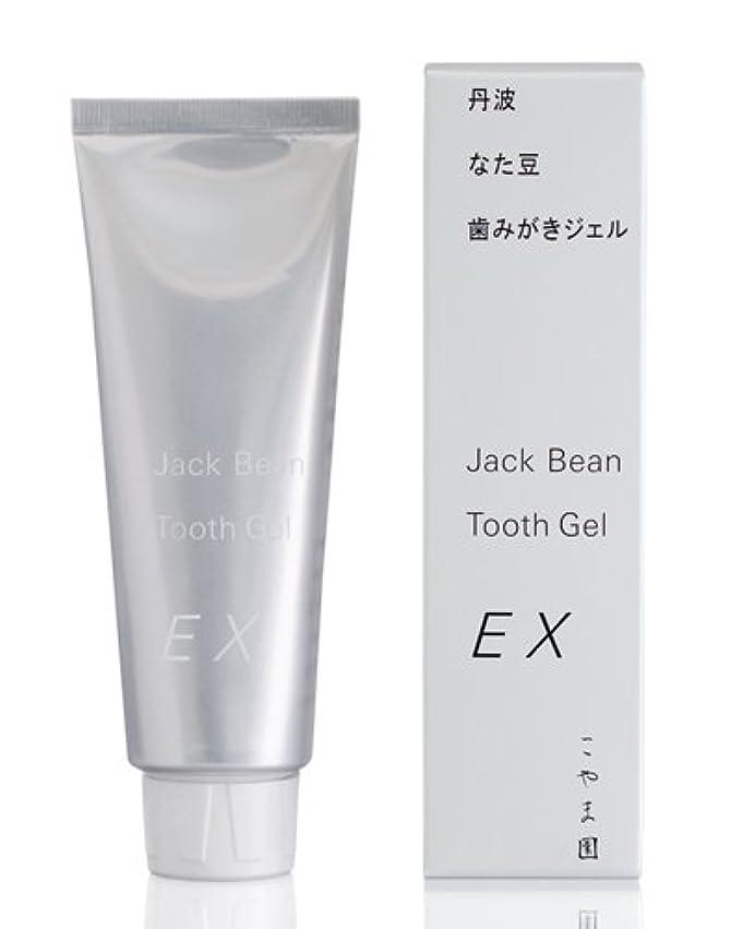 基本的な自分のために繊細こやま園 丹波なた豆歯みがきジェルEX 120g