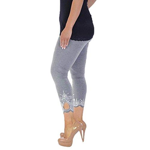 [해외]요가 바지 요가 바지 여성 스포츠 요가 슬림 높은 탄성 레깅스 러닝 팬츠 스웨트 팬츠 흡한 속건 피트니스웨어 일곱 분 길이 큰 크기/Yoga Pants Yoga Pants Women Sports Yoga Slim High Elastic Leggings Running Pants Sweat Pants Sweat-absorbe...