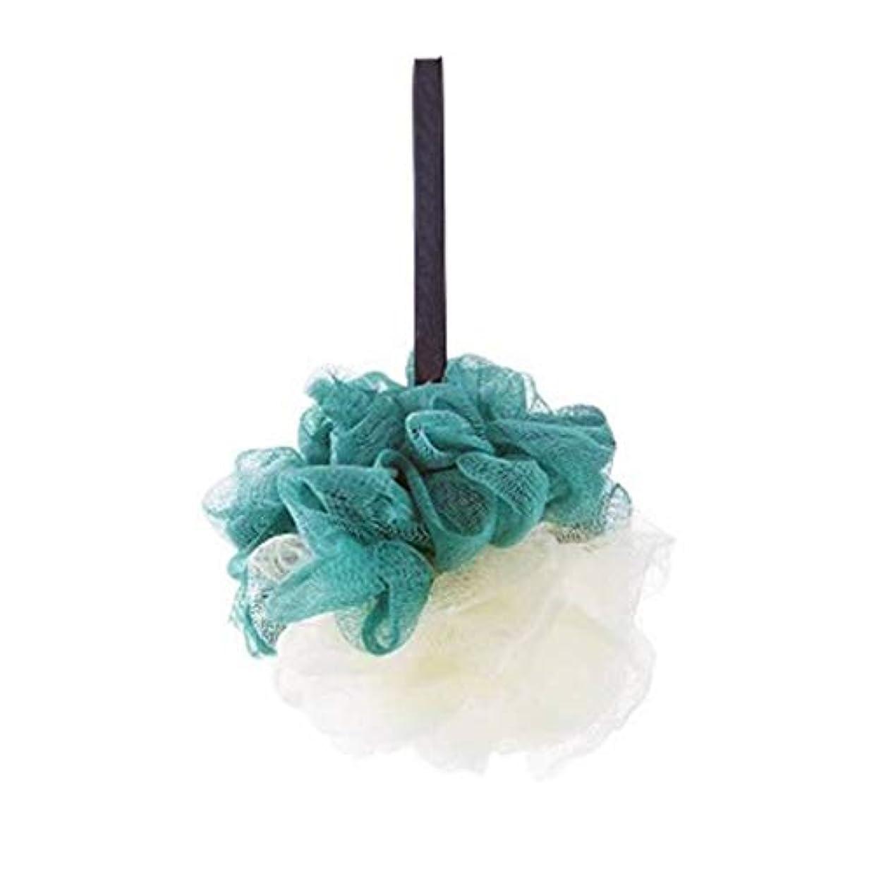 飢饉採用する回想KOROWA ダブル色ボール 超柔軟ボディースポンジ ボディウォッシュボール メッシュ 泡立てネット 風呂 背中 ボディークリーナー