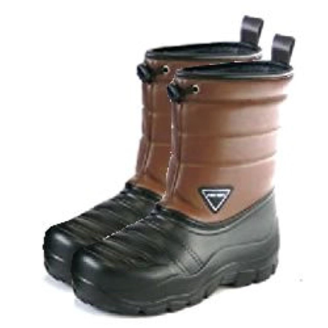 膨らませる解釈的アライメント阪神素地 かるぬく 超軽量防寒ブーツ N2511 ブラウン L:26.0cm