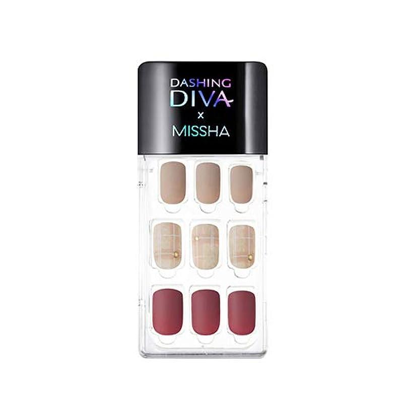 破滅的な解き明かす下手[ ミシャ X ダッシングディバ ] マジックプレス スーパースリムフィット MISSHA Dashing Diva Magic Press Super Slim Fit #MDR_498 Cashmere Mauve...
