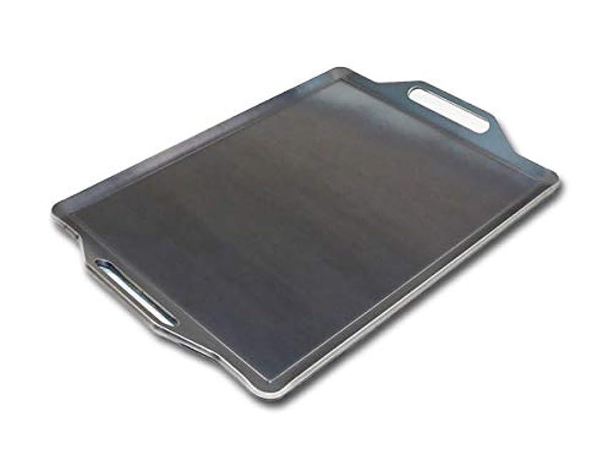 対人物足りない調整ZEOOR(ゼオール) 極厚バーベキュー鉄板 板厚4.5mm 590mm × 450mm