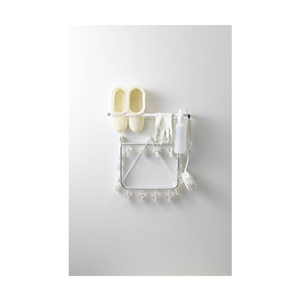 山崎実業 ランドリー収納 ホワイト 約6X8....の紹介画像5