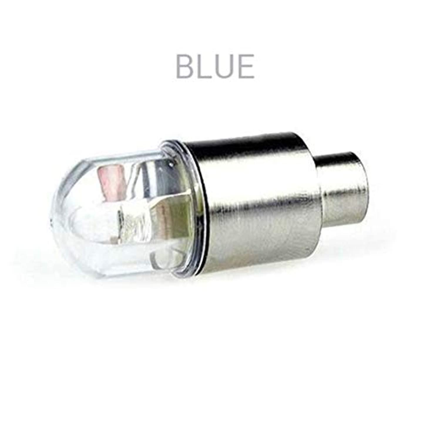 リム音声学噴火自動車およびオートバイバルブノズルランプフラッシュLedタイヤ装飾ランプ空気口ライト夜間視力強化-赤