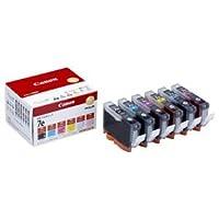 (まとめ) キヤノン Canon インクタンク BCI-7e/6MP 6色マルチパック 1018B002 1箱(6個:各色1個) 【×3セット】
