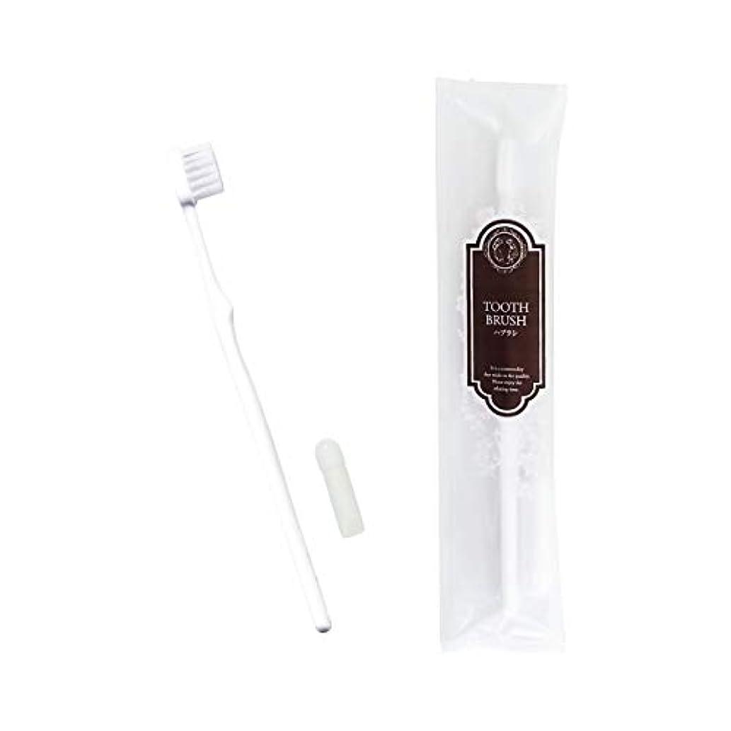 副産物同封するレッドデートリバイセンス ホテル業務用ハブラシ(白)21穴 3gチューブ 10本